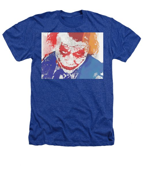 Why So Serious Heathers T-Shirt by Dan Sproul
