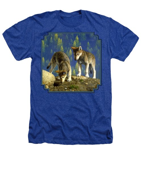 Wolf Pups - Anybody Home Heathers T-Shirt