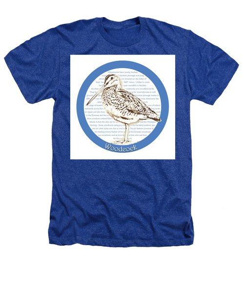 Woodcock Heathers T-Shirt by Greg Joens