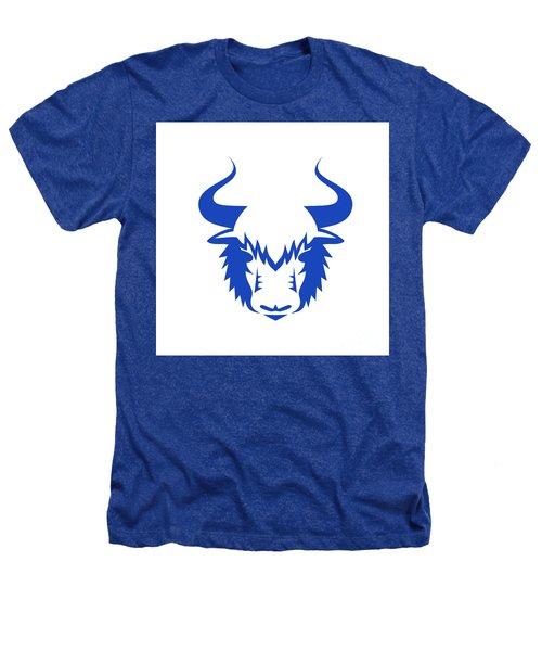 Yak Head Front Retro Heathers T-Shirt