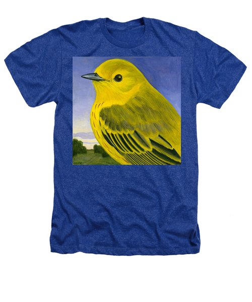 Yellow Warbler Heathers T-Shirt by Francois Girard