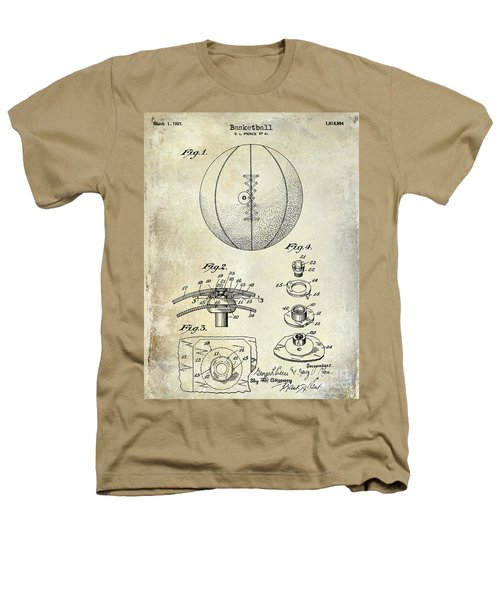 1927 Basketball Patent Drawing Heathers T-Shirt