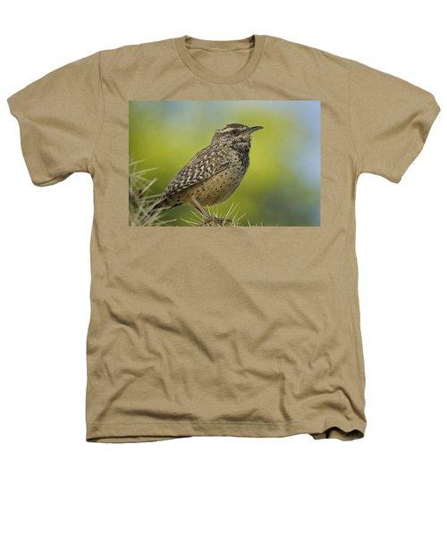 Cactus Wren  Heathers T-Shirt by Saija  Lehtonen