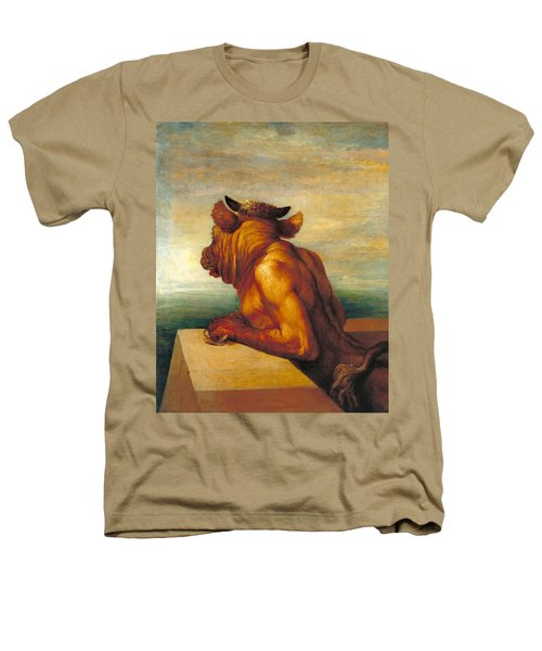 The Minotaur Heathers T-Shirt by George Frederic Watts