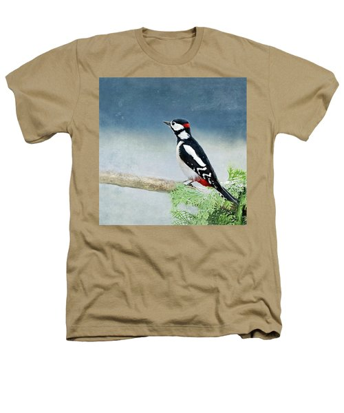 Woodpecker Heathers T-Shirt