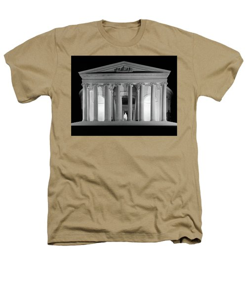 1960s Thomas Jefferson Memorial Lit Heathers T-Shirt