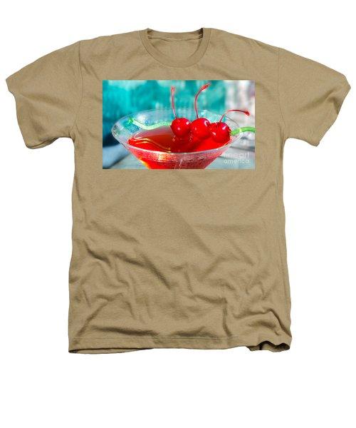 Shirley Temple Drink Heathers T-Shirt by Iris Richardson