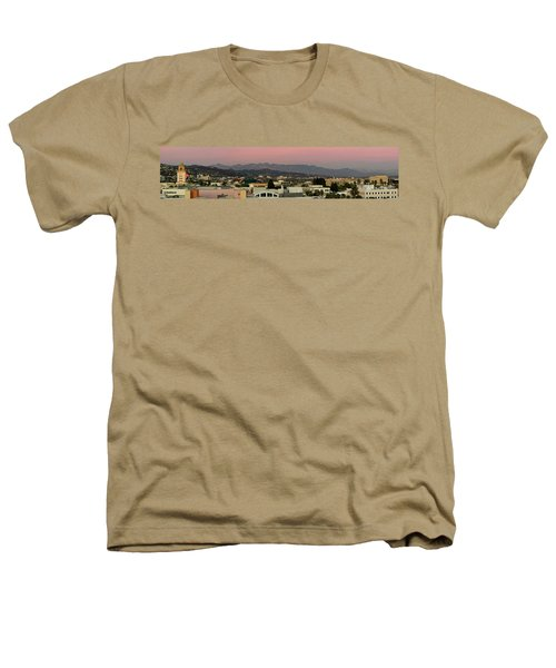 Elevated View Of Buildings In City Heathers T-Shirt by Panoramic Images