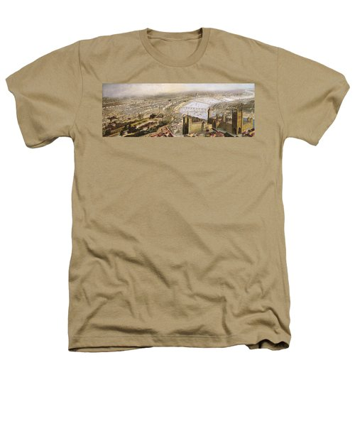 A Panoramic View Of London Heathers T-Shirt by English School