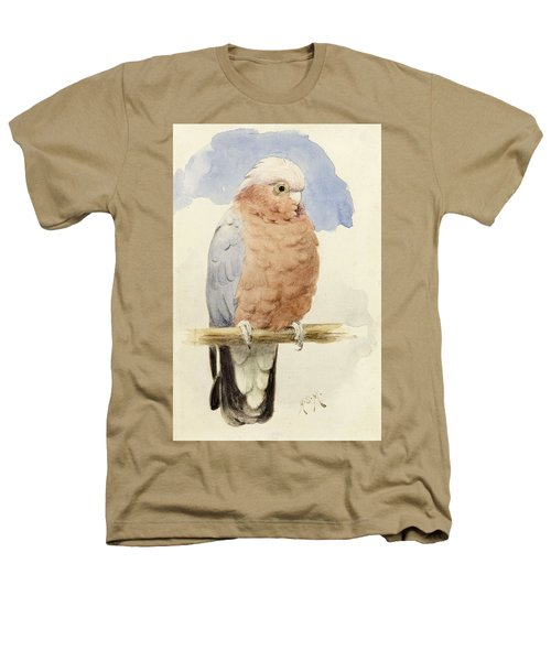 A Rose Breasted Cockatoo Heathers T-Shirt