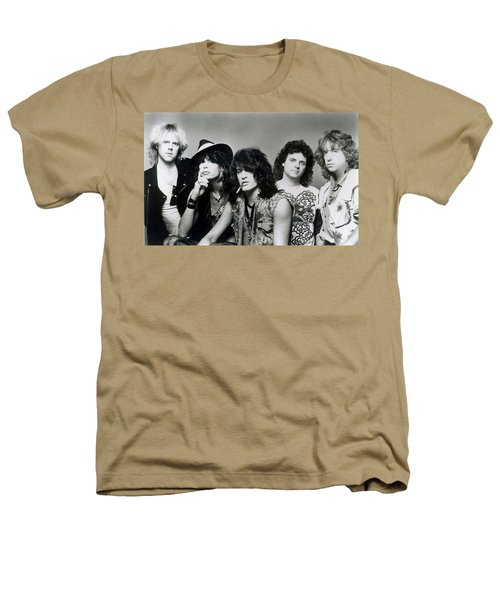 Aerosmith - What It Takes 1980s Heathers T-Shirt by Epic Rights