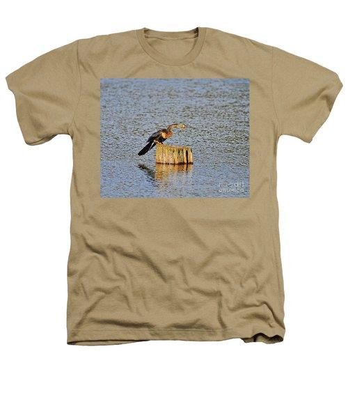 American Anhinga Angler Heathers T-Shirt
