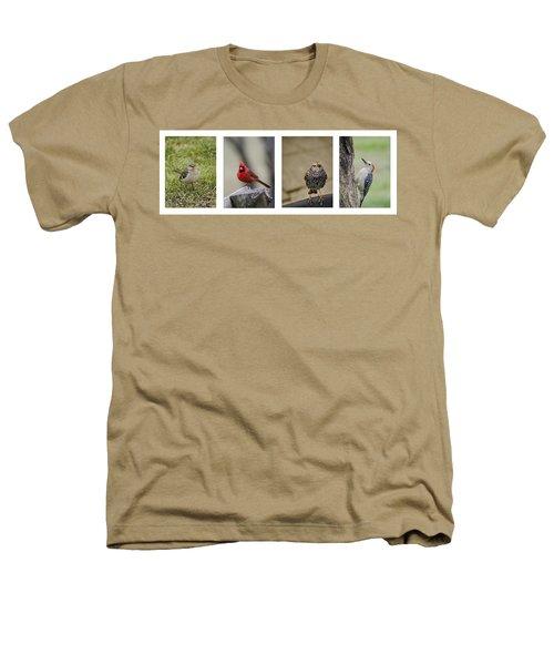 Backyard Bird Series Heathers T-Shirt