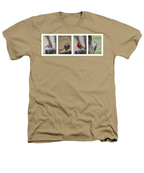 Backyard Bird Set Heathers T-Shirt