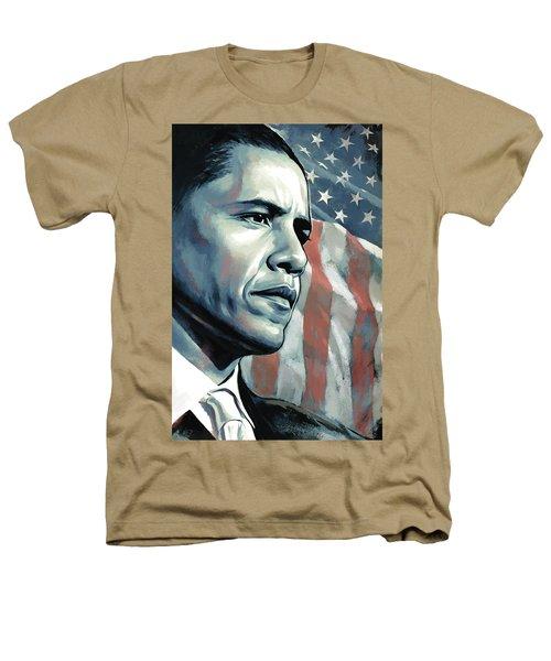 Barack Obama Artwork 2 B Heathers T-Shirt by Sheraz A