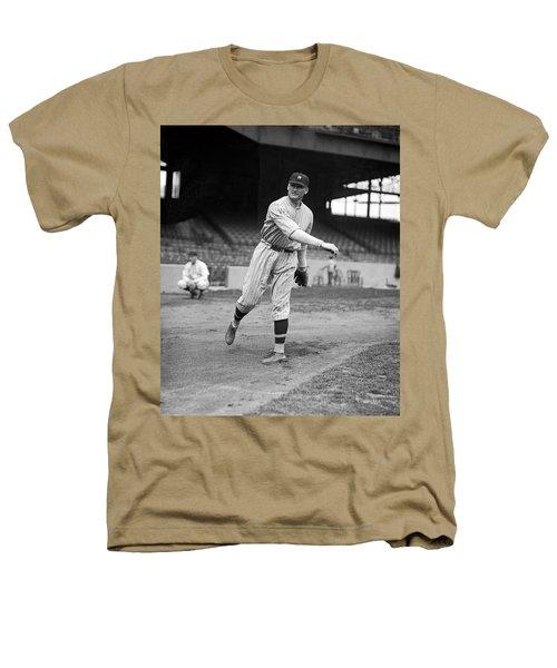 Baseball Star Walter Johnson Heathers T-Shirt