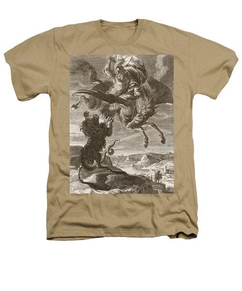 Bellerophon Fights The Chimaera, 1731 Heathers T-Shirt