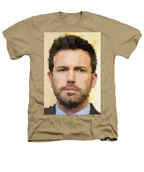 Ben Affleck Portrait Heathers T-Shirt