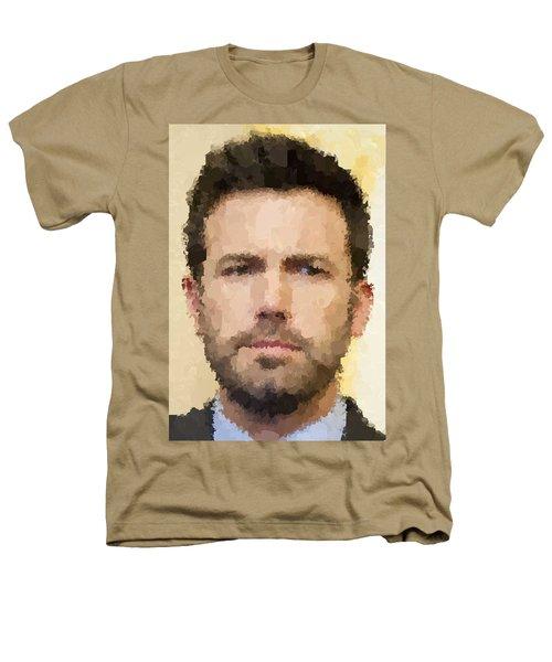 Ben Affleck Portrait Heathers T-Shirt by Samuel Majcen