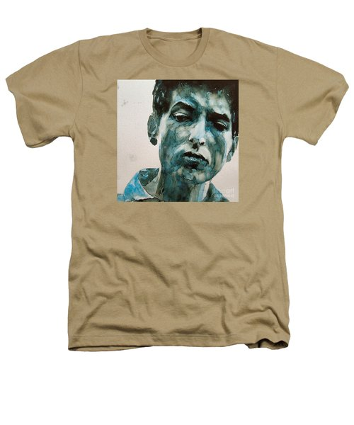 Bob Dylan Heathers T-Shirt by Paul Lovering