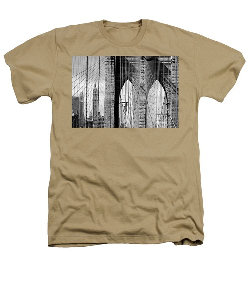 Brooklyn Bridge New York City Usa Heathers T-Shirt