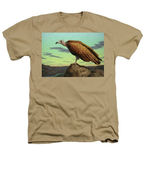 Buzzard Rock Heathers T-Shirt by James W Johnson