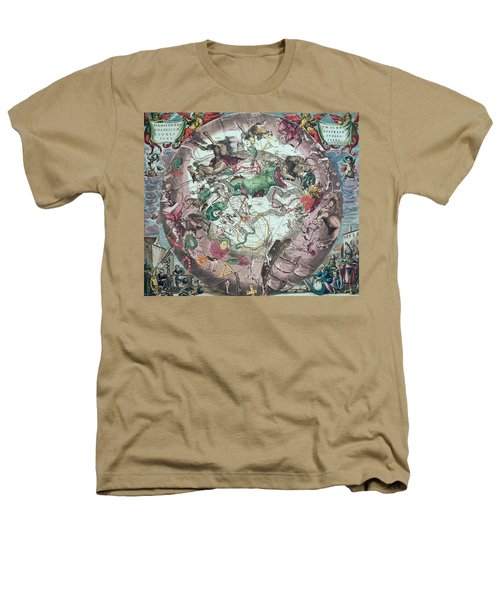 Constellations Of The Southern Hemisphere, From The Celestial Atlas, Or The Harmony Of The Universe Heathers T-Shirt