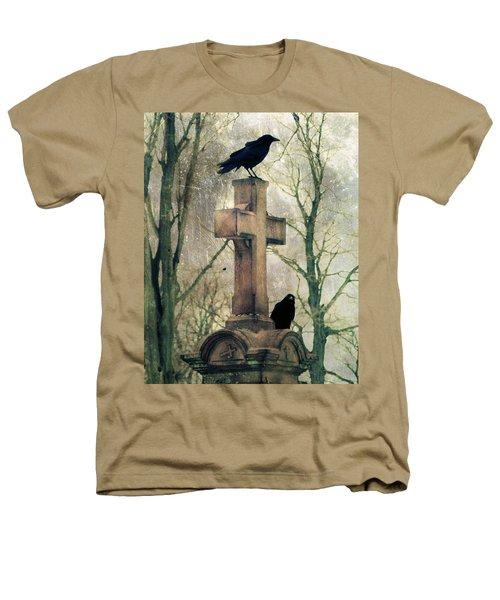 Urban Graveyard Crows Heathers T-Shirt