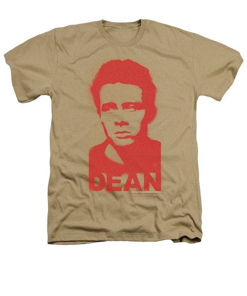 Dean - Graffiti Stencil Heathers T-Shirt by Brand A