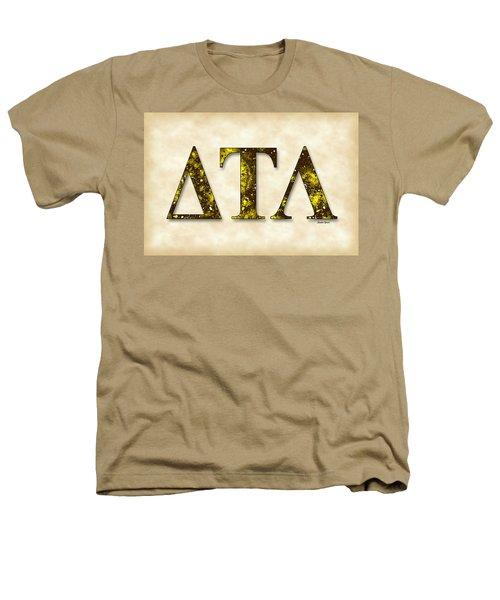 Delta Tau Lambda - Parchment Heathers T-Shirt by Stephen Younts