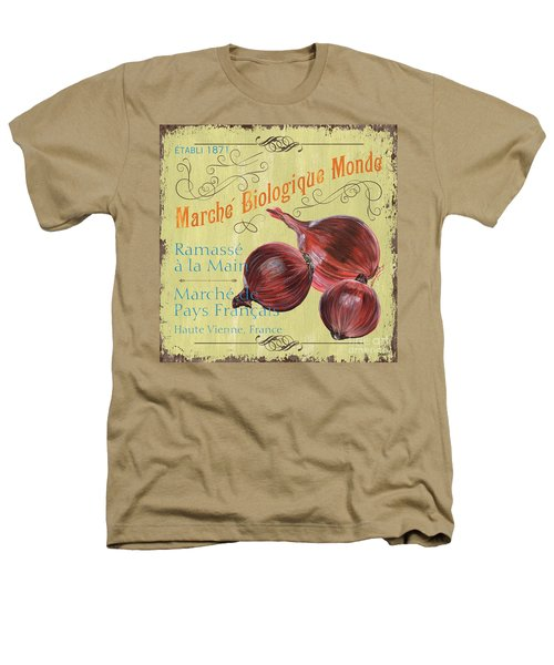 French Market Sign 4 Heathers T-Shirt by Debbie DeWitt