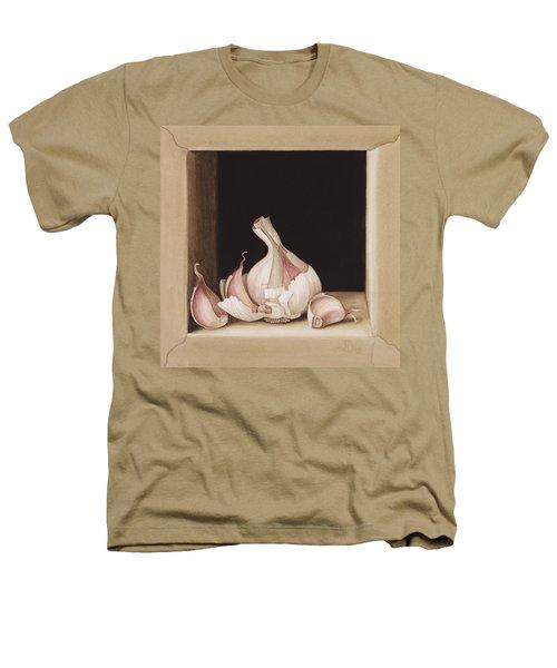 Garlic Heathers T-Shirt by Jenny Barron