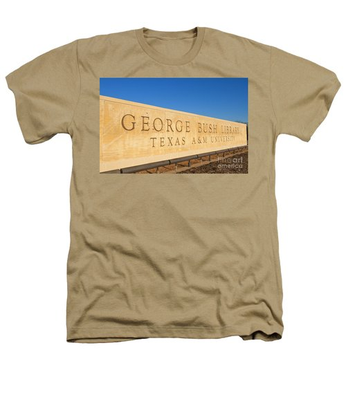George H. Bush Library, Texas Heathers T-Shirt