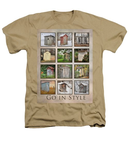 Go In Style - Outhouses Heathers T-Shirt