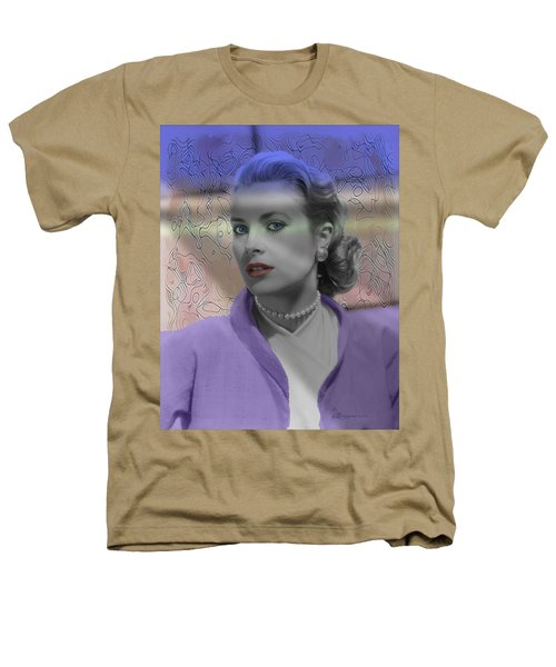 Grace Kelly - Featured In Comfortable Art Group Heathers T-Shirt by EricaMaxine  Price