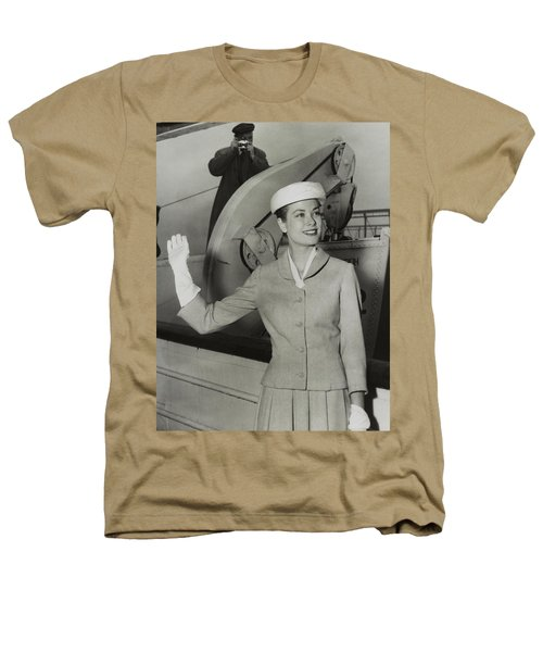 Grace Kelly In 1956 Heathers T-Shirt by Mountain Dreams