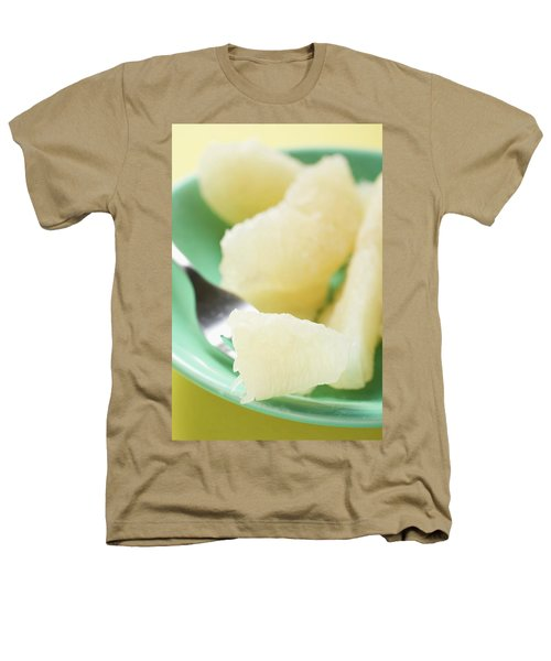 Grapefruit Segments On Plate And Fork Heathers T-Shirt