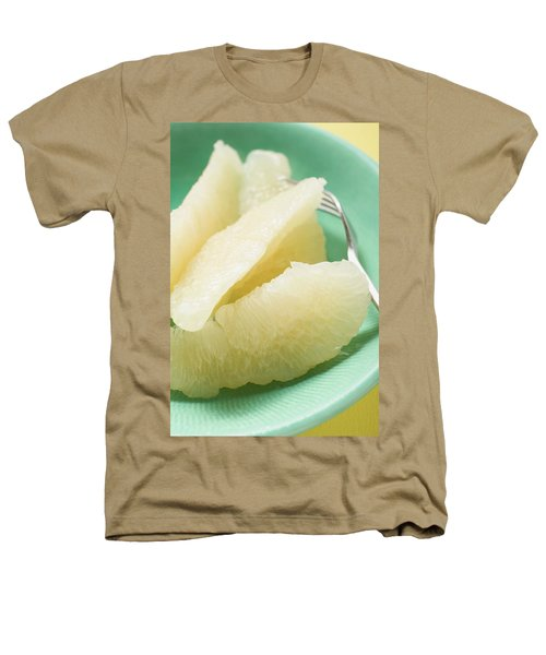 Grapefruit Segments On Plate With Fork Heathers T-Shirt