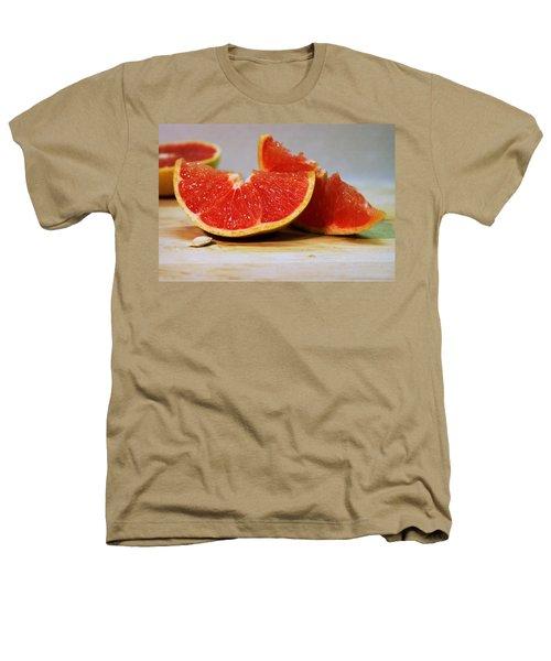 Grapefruit Slices Heathers T-Shirt by Joseph Skompski