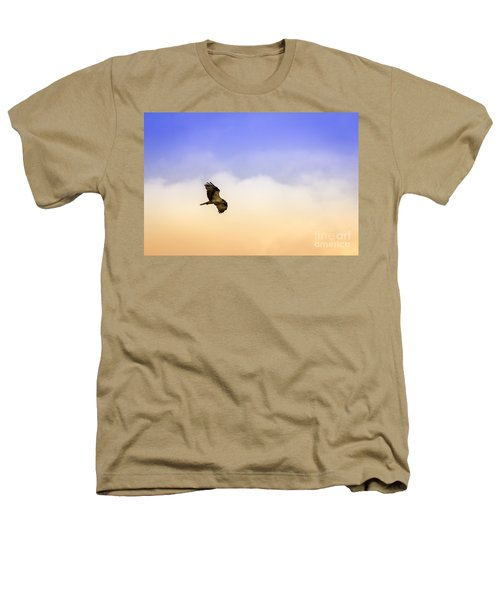 Hawk Over Head Heathers T-Shirt