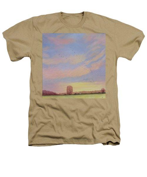 Homeward Heathers T-Shirt by Ann Brian
