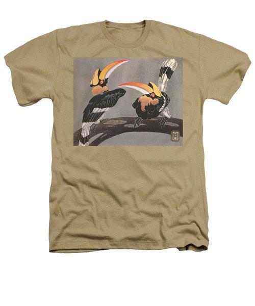 Hornbills Heathers T-Shirt by Ethleen Palmer