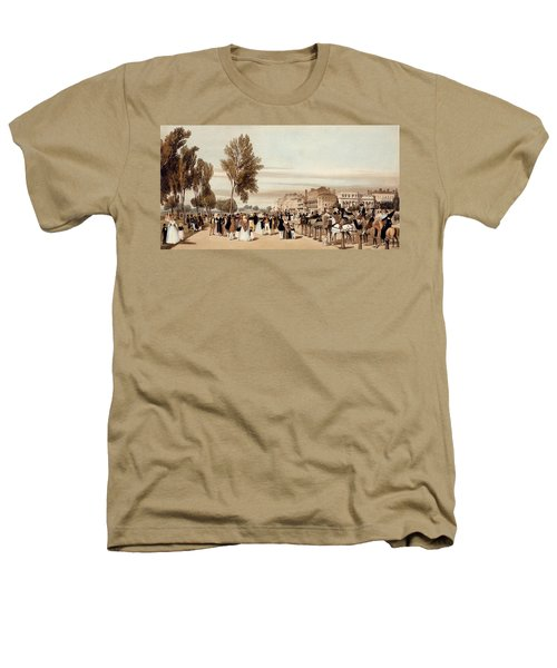 Hyde Park, Towards The Grosvenor Gate Heathers T-Shirt by Thomas Shotter Boys