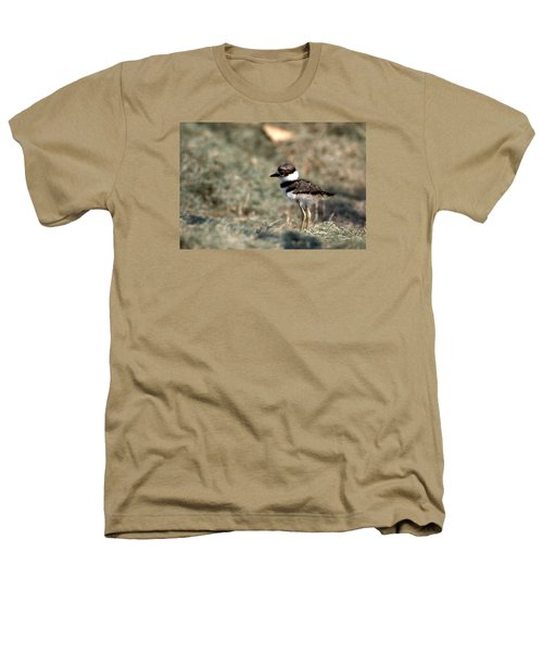 Its A Killdeer Babe Heathers T-Shirt by Skip Willits