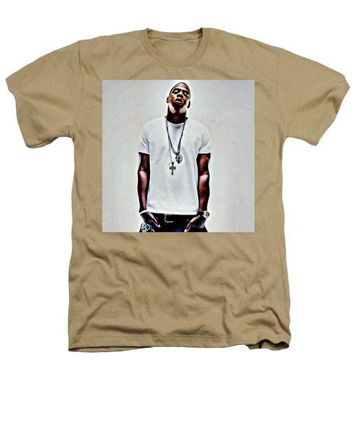 Jay-z Portrait Heathers T-Shirt