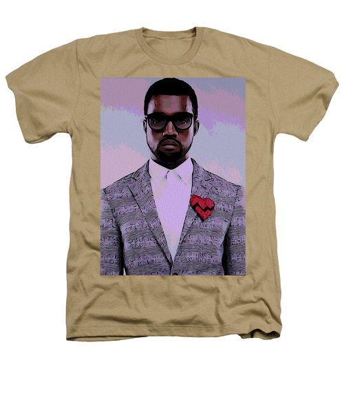 Kanye West Poster Heathers T-Shirt by Dan Sproul