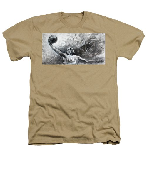 King James Lebron Heathers T-Shirt by Ylli Haruni