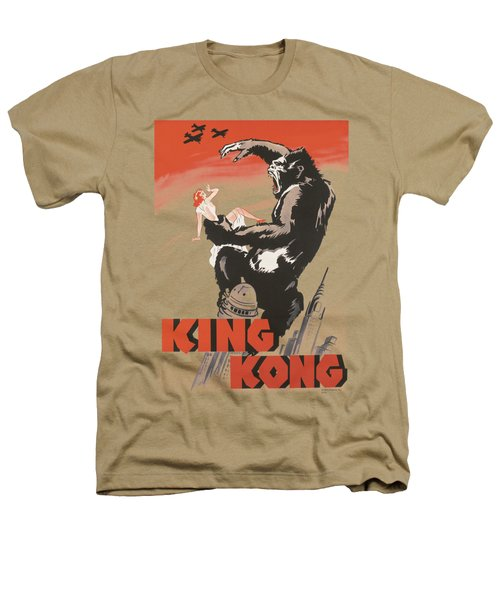 King Kong - Red Skies Of Doom Heathers T-Shirt