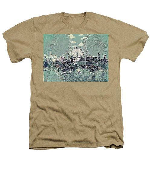 London Skyline Vintage Heathers T-Shirt