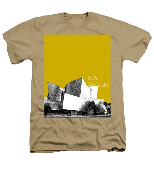 Los Angeles Skyline Disney Theater - Gold Heathers T-Shirt